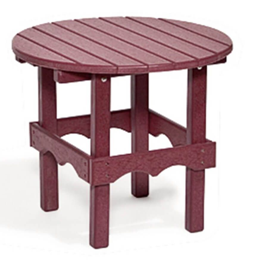 Bahia Outdoor Round End Table