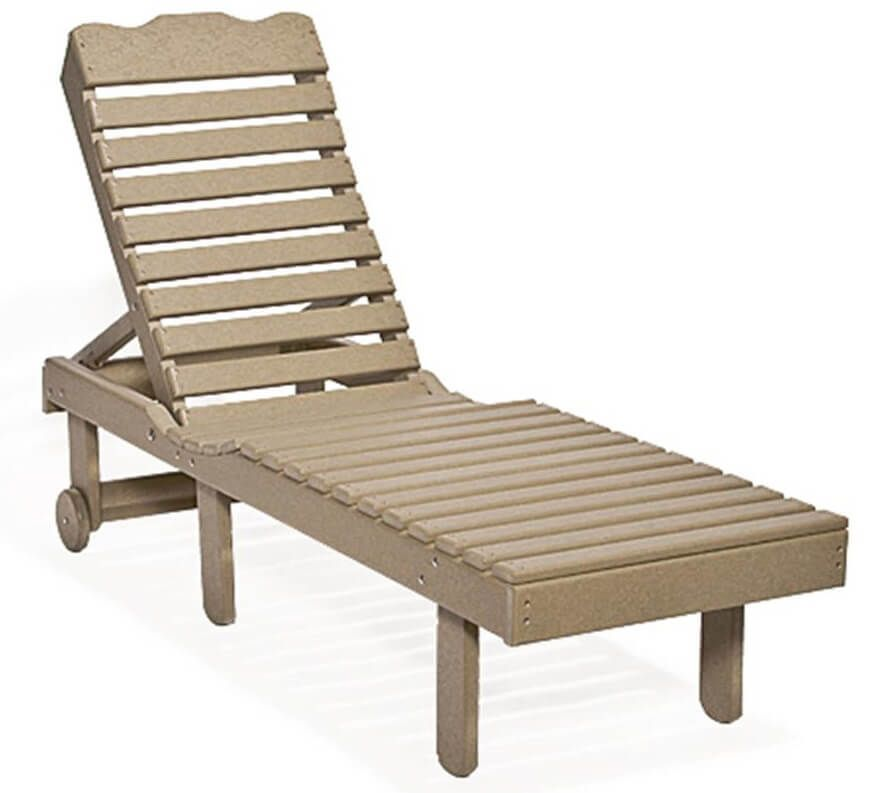 Cocoa Beach Outdoor Side Chair Lounger