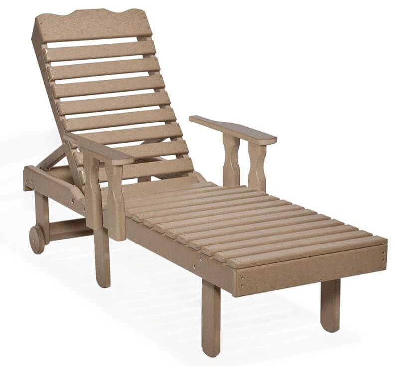 Cocoa Beach Outdoor Arm Chair Lounger