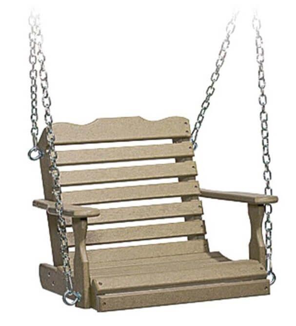 Eagle Beach Child's Porch Swing