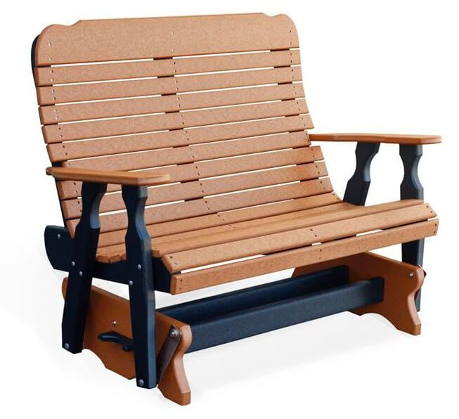 Two-toned Whitehaven Outdoor Double Glider