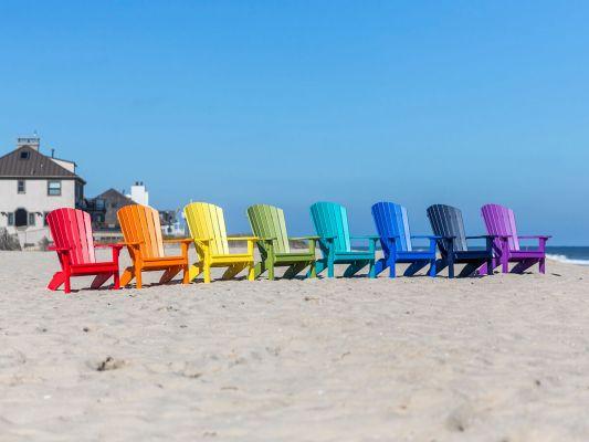 Bahia Eco-Friendly Adirondack Chair - Countryside Amish Furniture