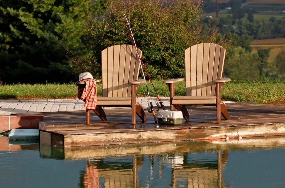 Bahia Amish Outdoor Furniture Set Countryside Amish