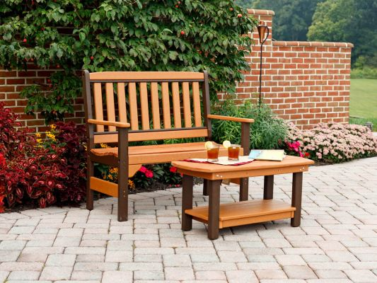 Cavendish Outdoor Bench and Coffee Table