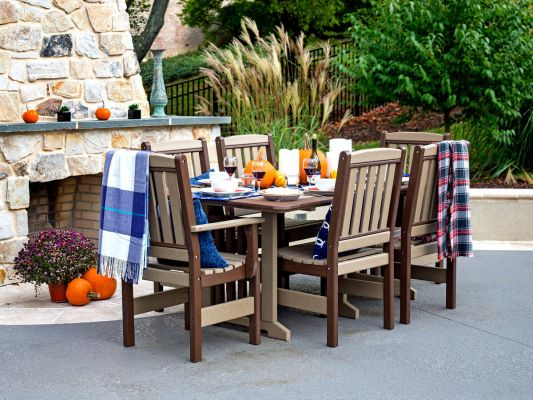 Poly Lumber Patio Dining Set