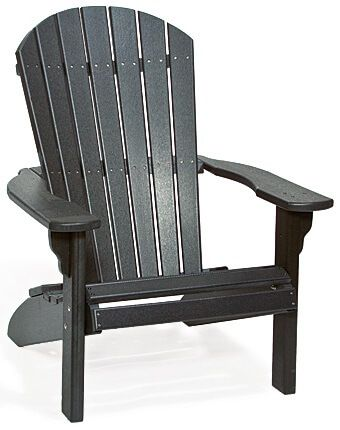 Black Bahia Adirondack Chair