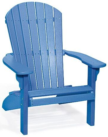 Blue Bahia Adirondack Chair