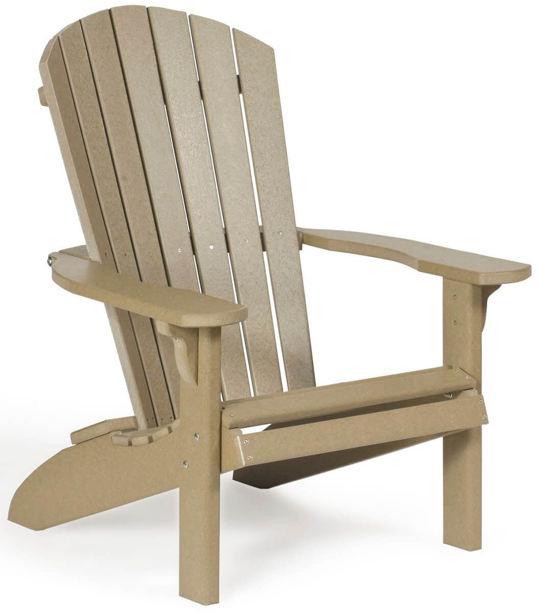 Weatherwood Poly Bahia Adirondack Chair