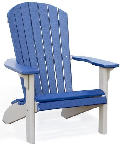 Two-toned Bahia Adirondack Chair