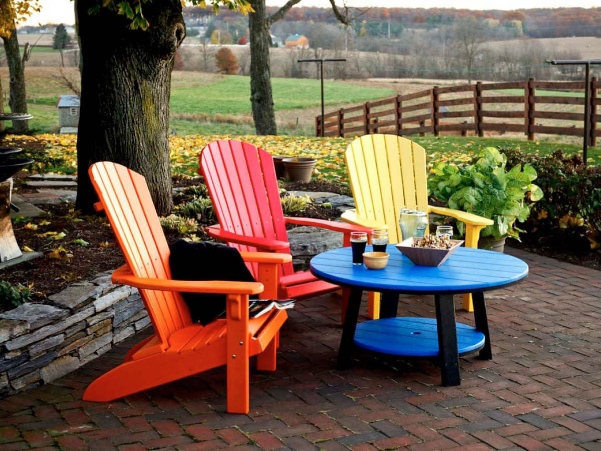 Amish Outdoor Poly Furniture