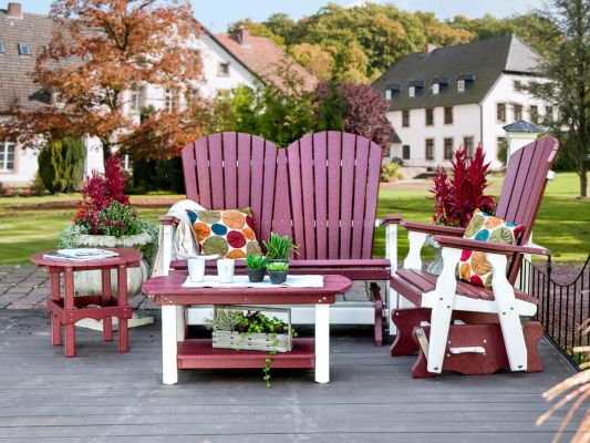 Bahia Double Glider Outdoor Collection