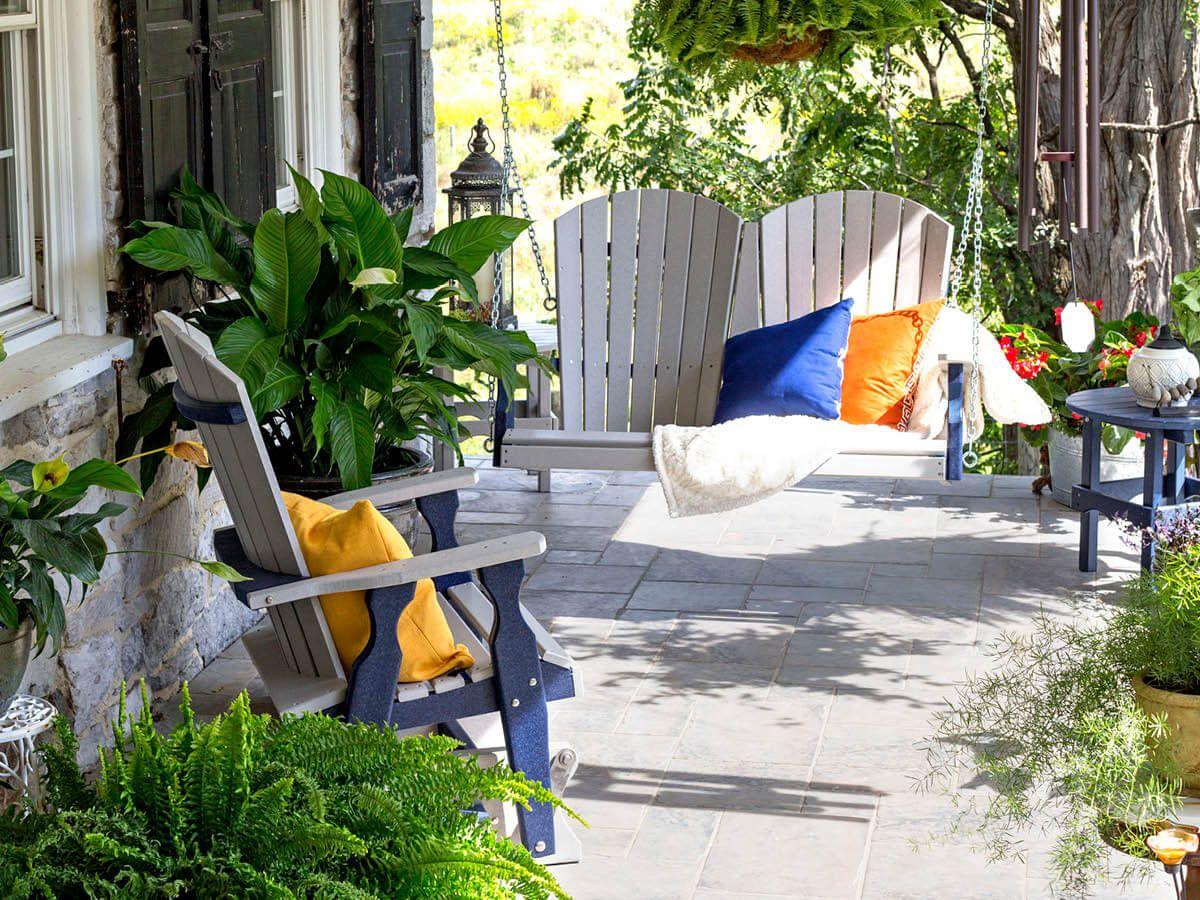 Fanback outdoor furniture
