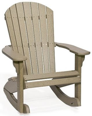 Eco-Friendly Poly Rocking Chair