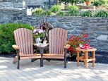 Bahia Patio Conversation Set with End Table