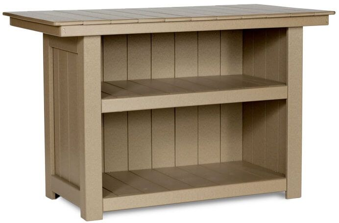 Open Back with Shelving