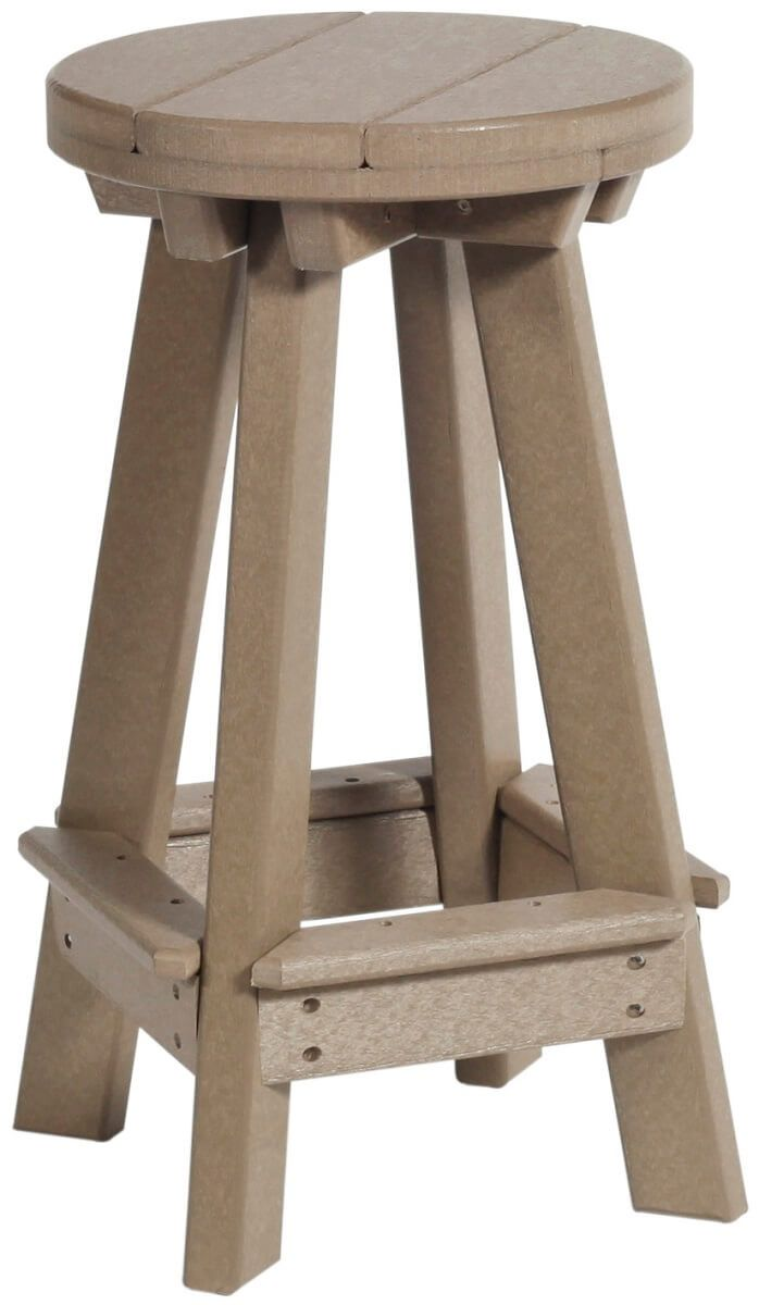 Weatherwood Canova Beach Outdoor Bar Stool