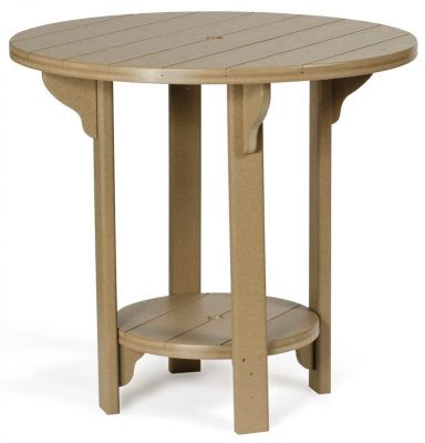 Weatherwood Round Outdoor Table