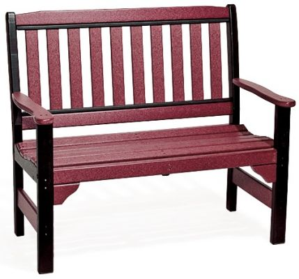 Poly Lumber Outdoor Park Bench
