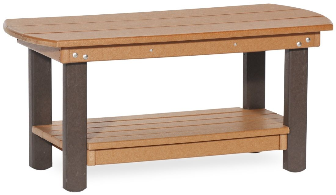 Two Tone Outdoor Coffee Table
