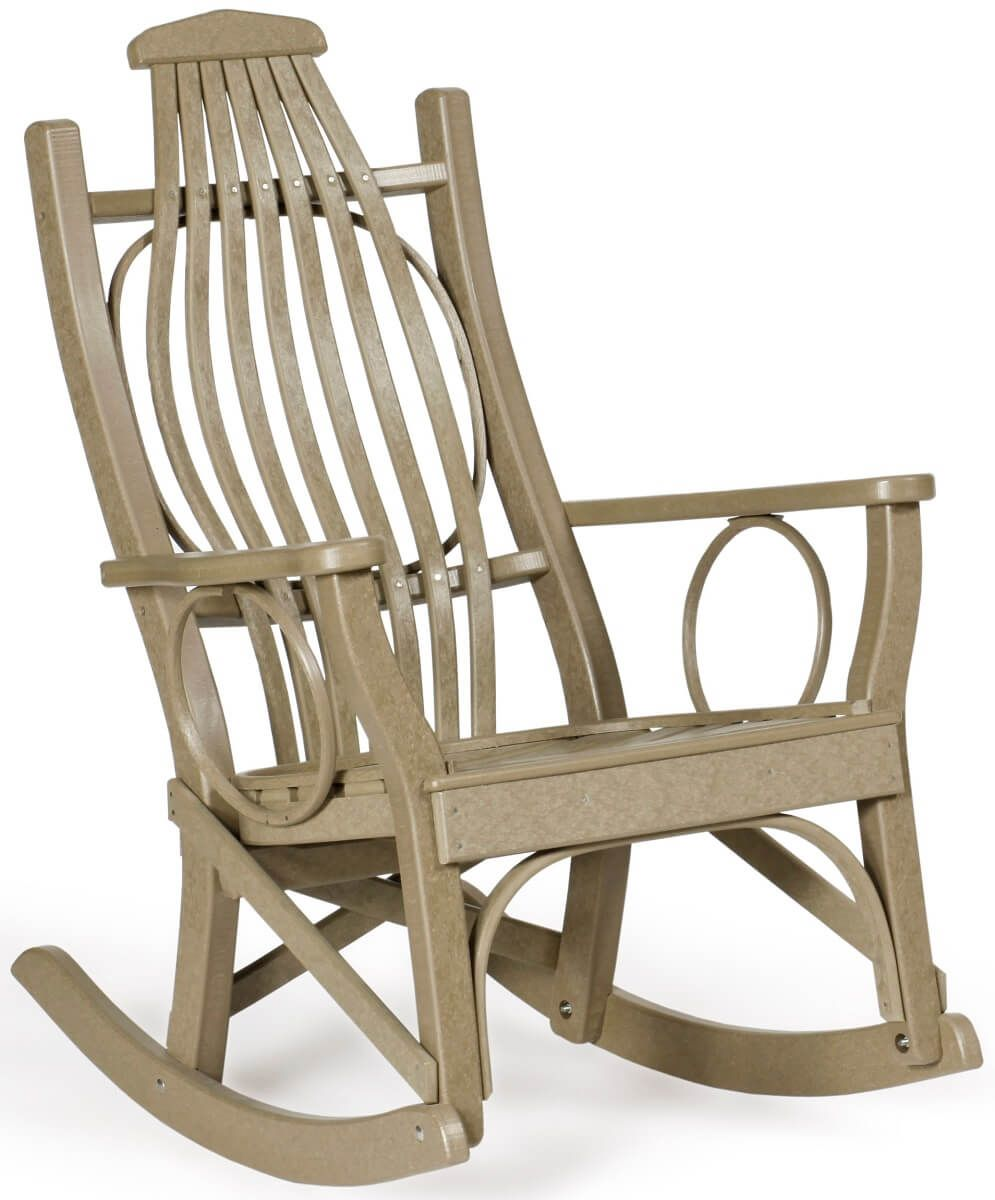 Weatherwood Poly Rocker