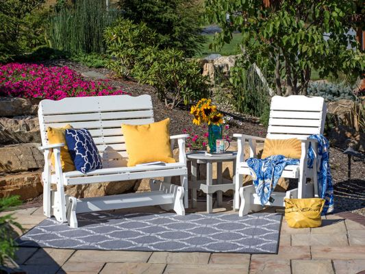 Outdoor Poly Lumber Seating