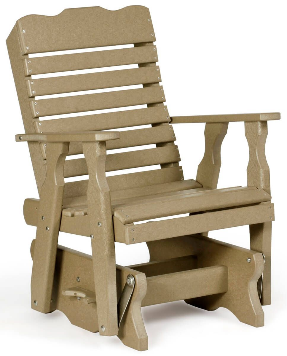 Poly Lumber Gliding Chair