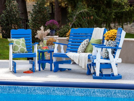 Two Tone Outdoor Poly Furniture