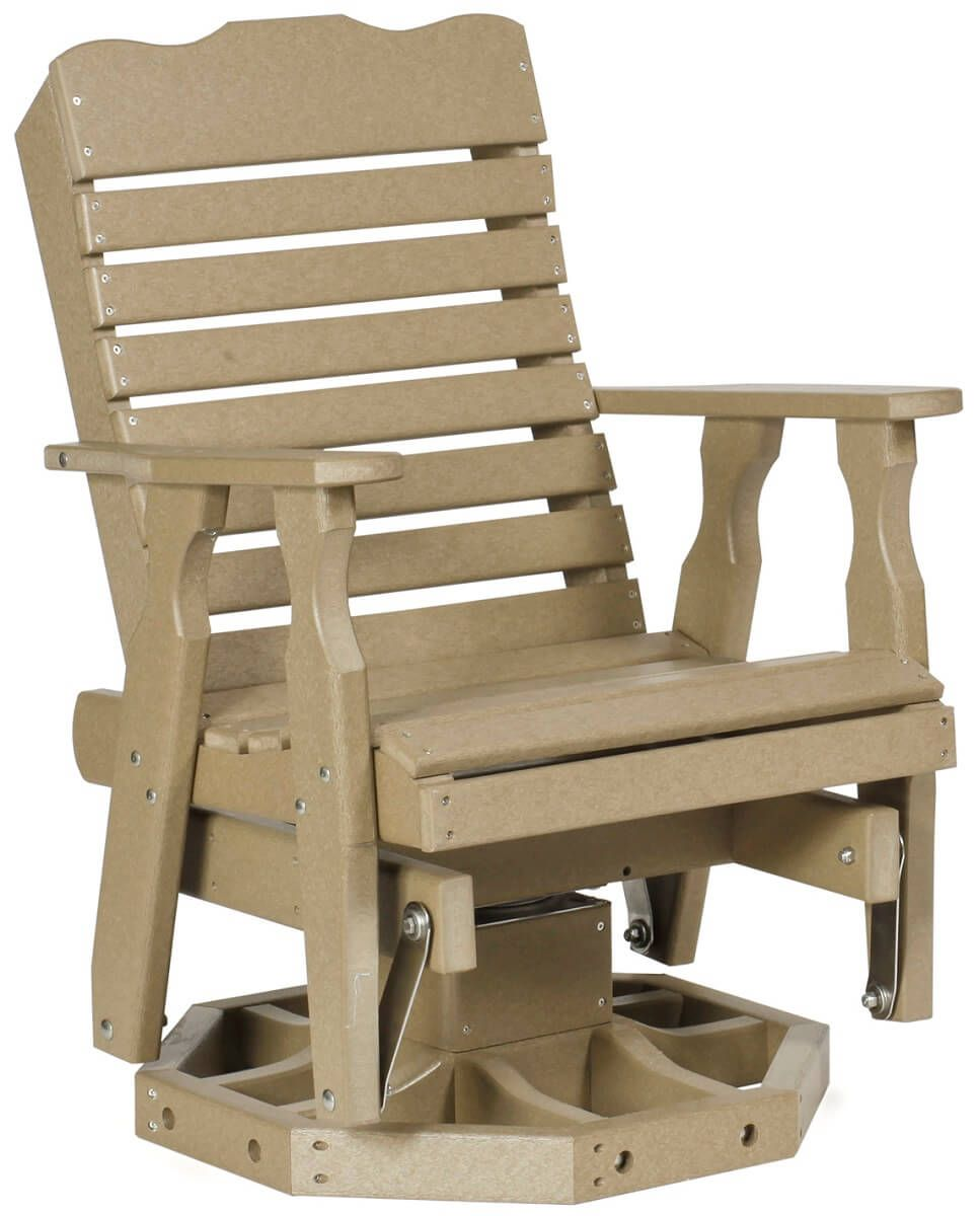 Poly Lumber Swivel Chair