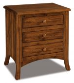 Bradley 3-Drawer Nightstand