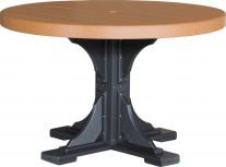 Stockton Outdoor Single Pedestal Table