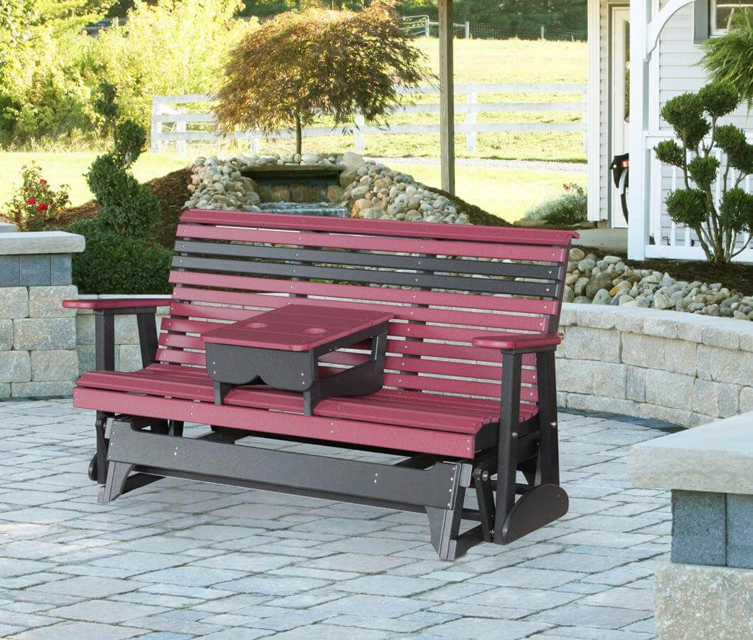 Cape Lookout 5' Patio Glider Bench