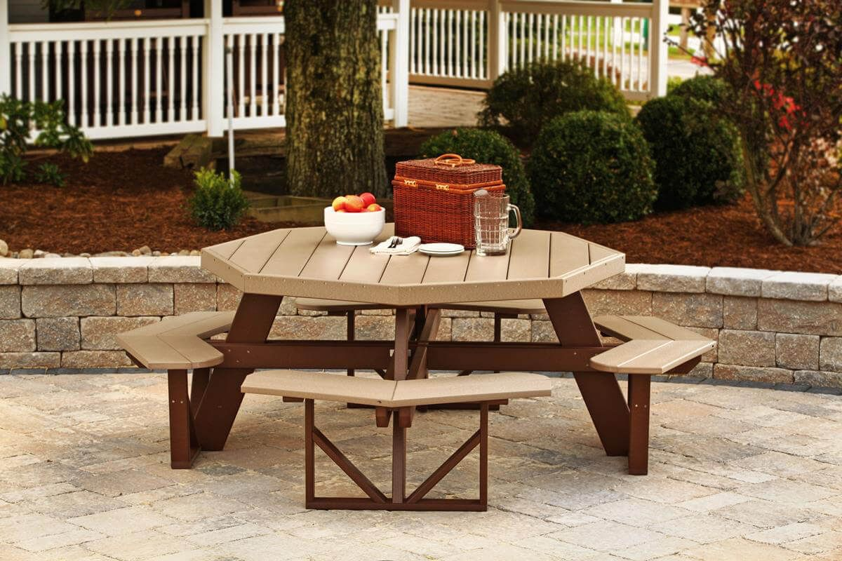 Portstewart Octagon Picnic Table