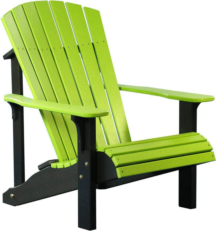 Pictured in Lime Green on Black