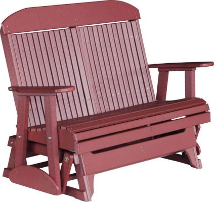 Cool Stockton Outdoor Glider Bench Countryside Amish Furniture Gmtry Best Dining Table And Chair Ideas Images Gmtryco