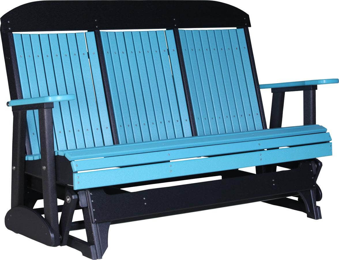 Pictured in Aruba Blue on Black - 5'