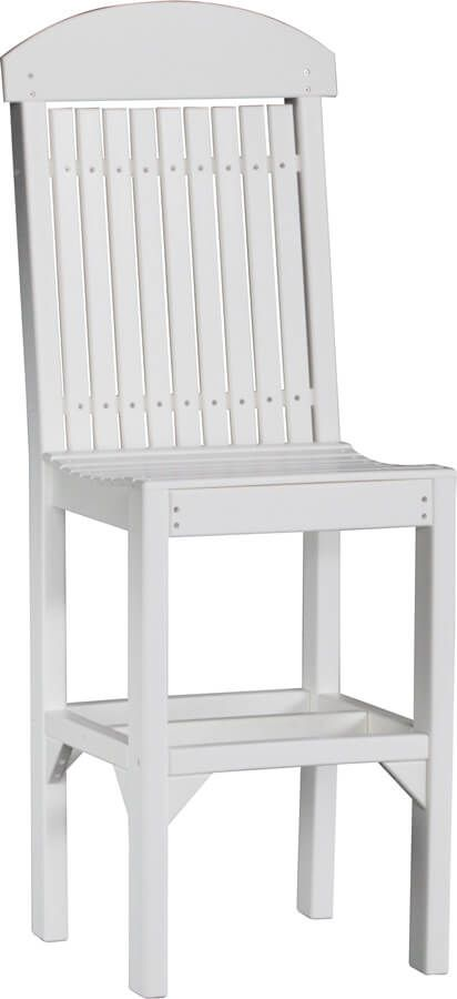 Stockton Outdoor Bar Chair in White