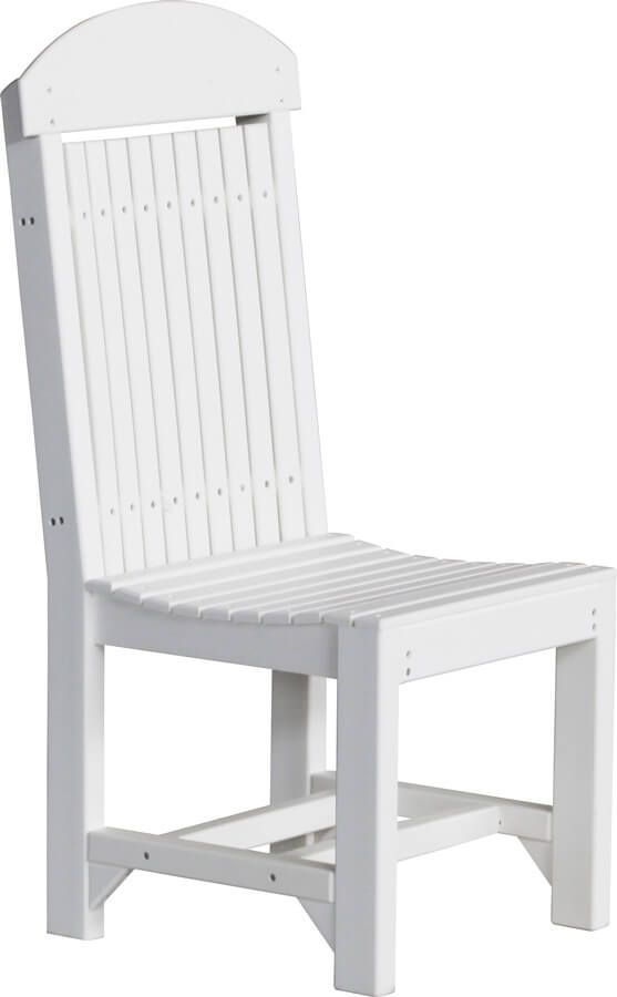 Stockton Outdoor Dining Chair in White
