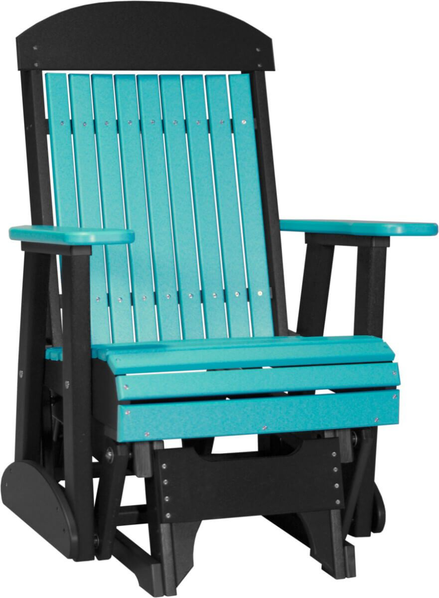 Pictured in Aruba Blue and Black