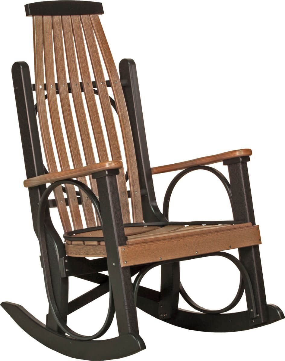 Pictured inAntique Mahogany and Black