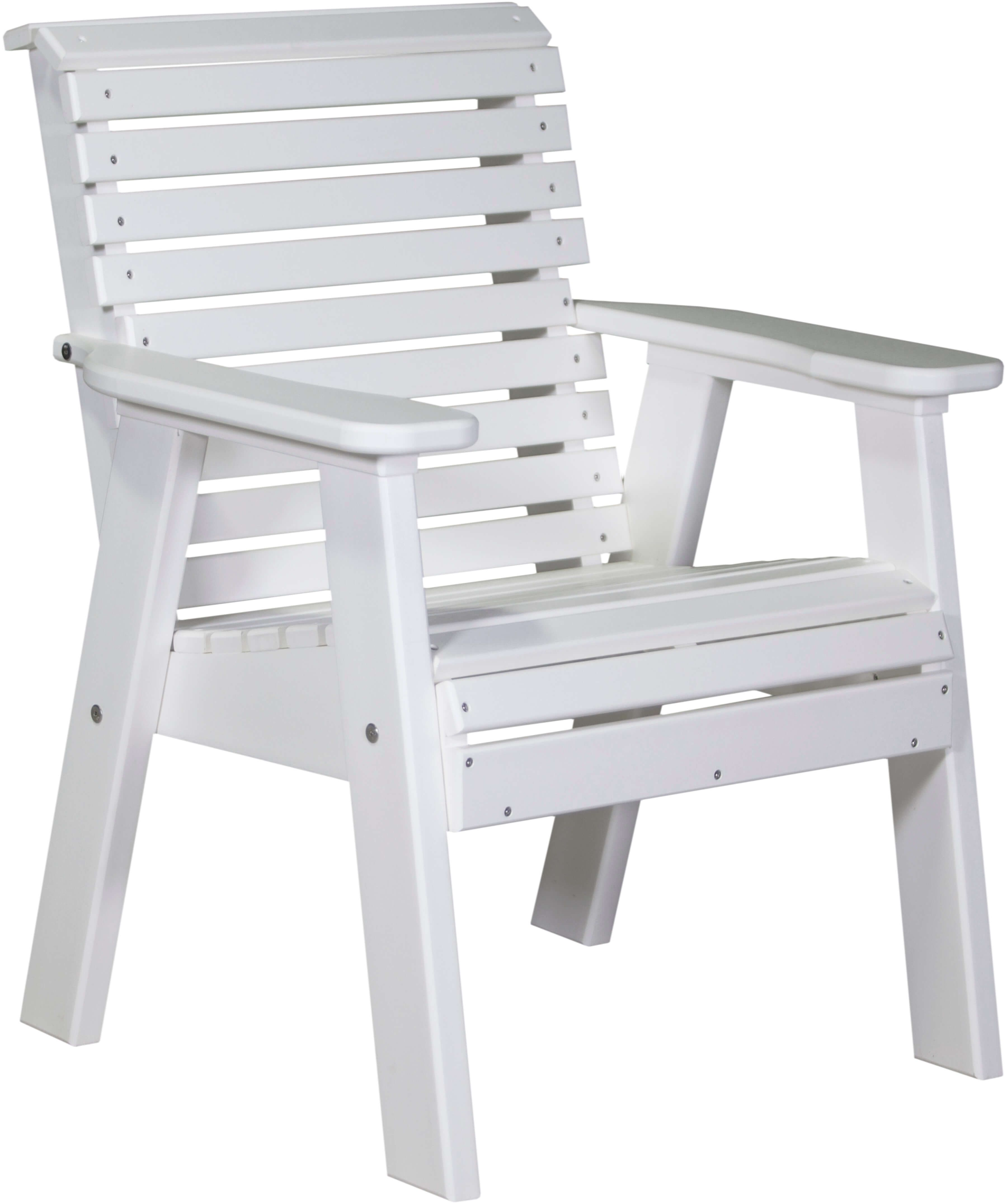 Cape Lookout Patio Chair in White