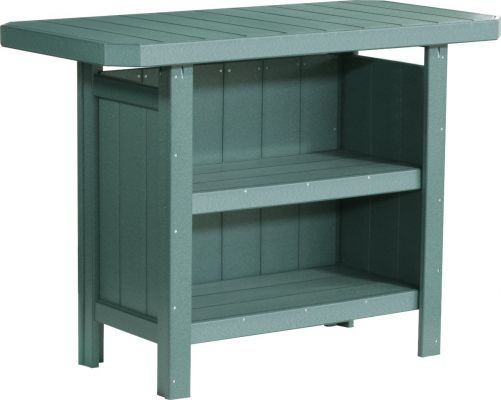 Green Arashi Outdoor Serving Bar