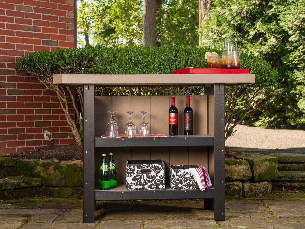 Outdoor Island Cart