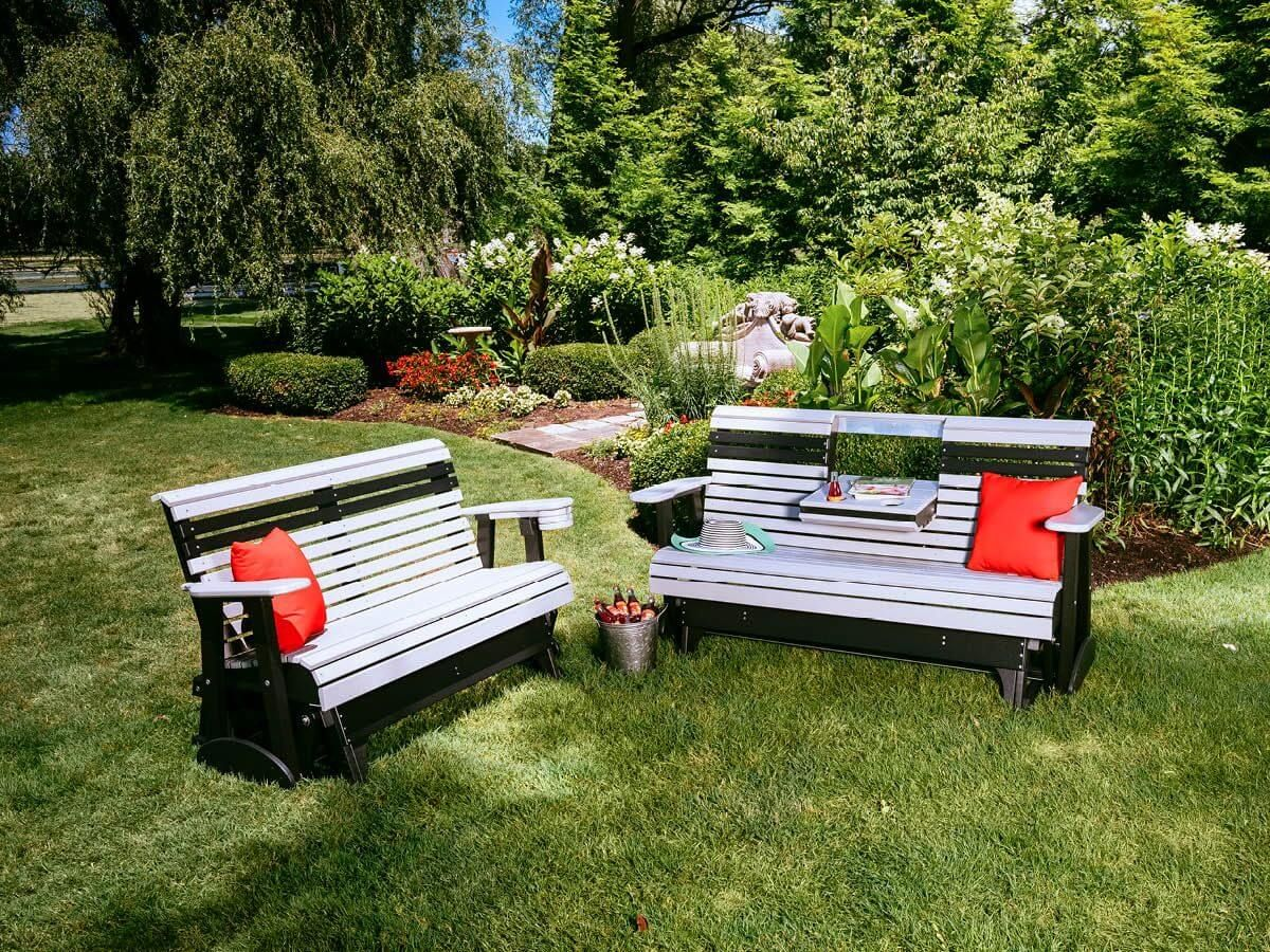 Cape Lookout Outdoor Bench Gliders