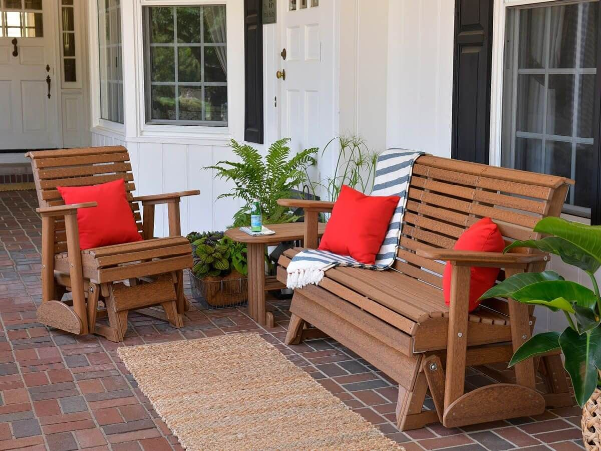 Eco-Friendly Outdoor Seating Set