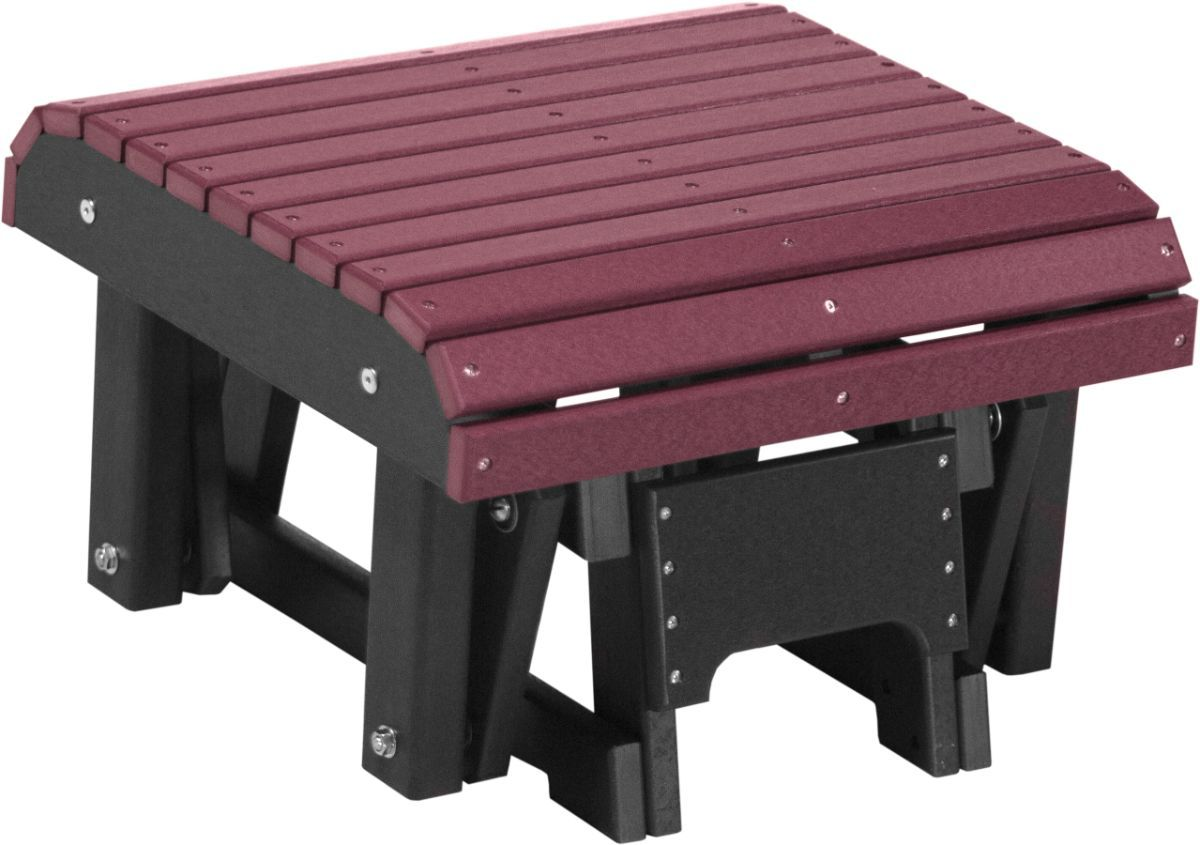Cherrywood and Black Cape Lookout Gliding Footrest