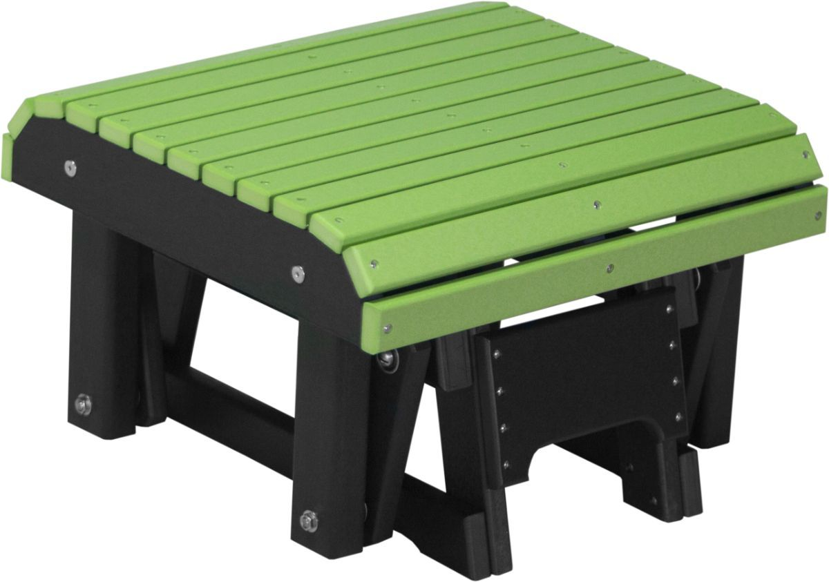 Lime Green and Black Cape Lookout Gliding Footrest