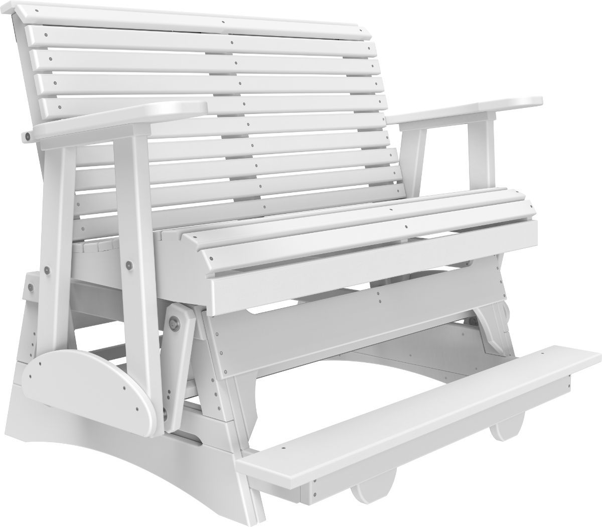 White Cape Lookout Loveseat Balcony Glider