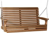 Antique Mahogany Cape Lookout Porch Swing