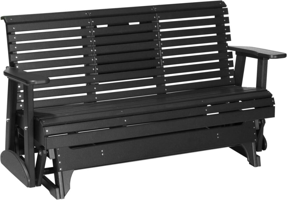 Large Cape Lookout Patio Glider Bench