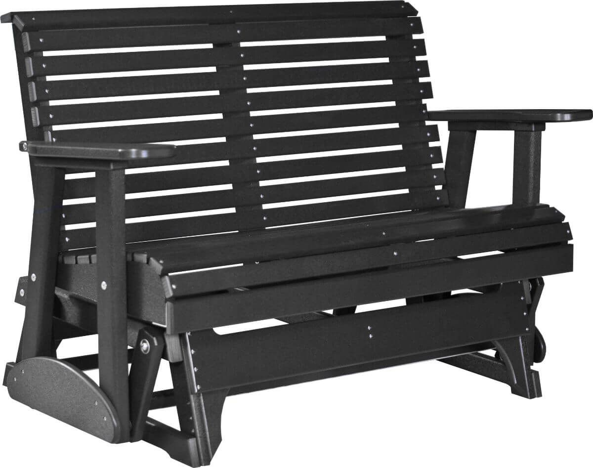 Black Cape Lookout Patio Glider Bench